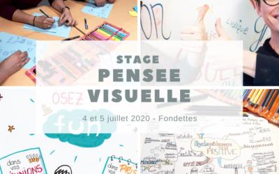 "4 et 5 juillet – Stage ""Pensez Visuel"""